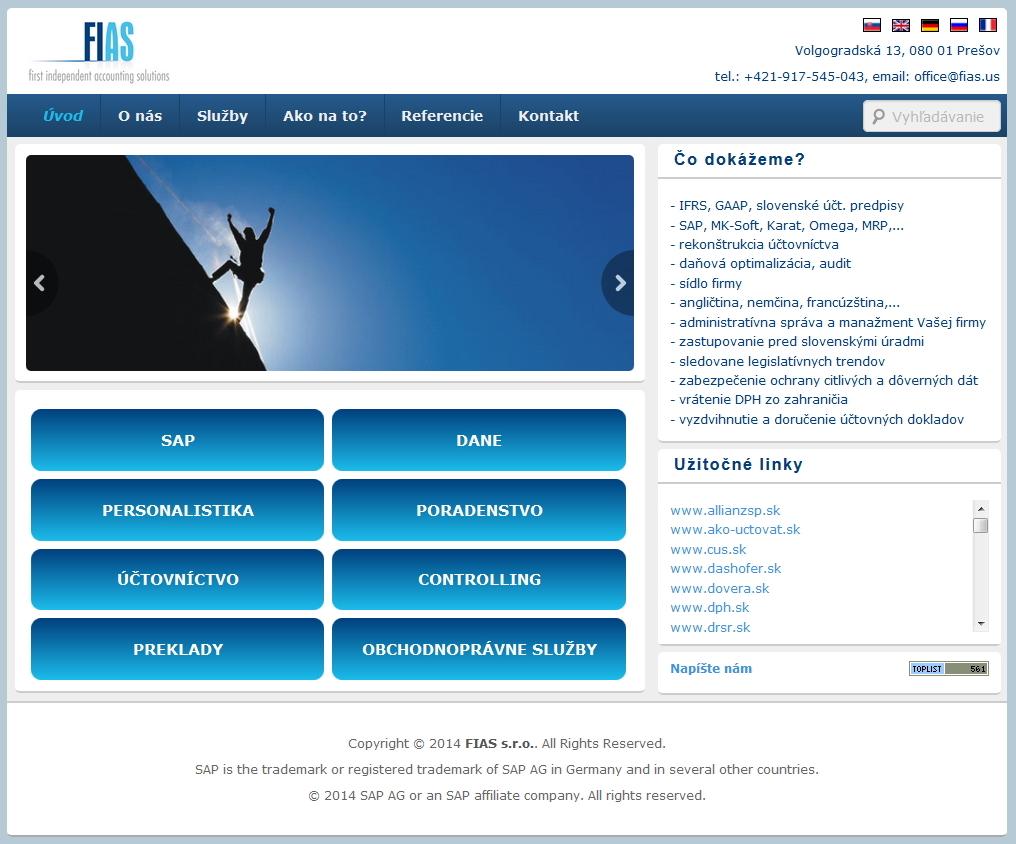Firemný WEB